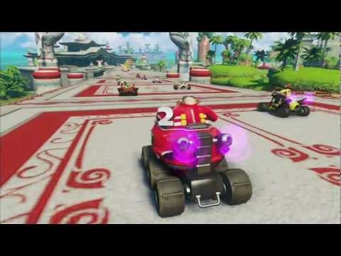 Sonic & All Stars Racing Transformed: Dragon Cup (M) [1080 HD] |