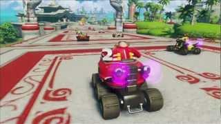 Sonic & All Stars Racing Transformed: Dragon Cup (M) [1080 HD]