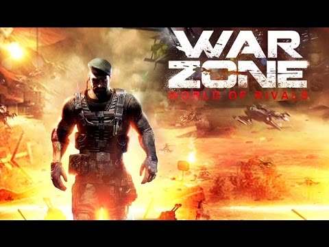 War Zone: World of Rivals (Gameplay iOS / Android)