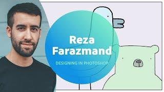 Live Designing in Photoshop with Reza Farazmand - 2 of 3