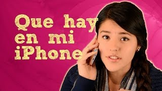 Lesslie: Que hay en mi iPhone | Tag que tengo en mi telefono...