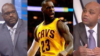 "Shaq On LeBron James vs Charles Barkley: ""I Would"