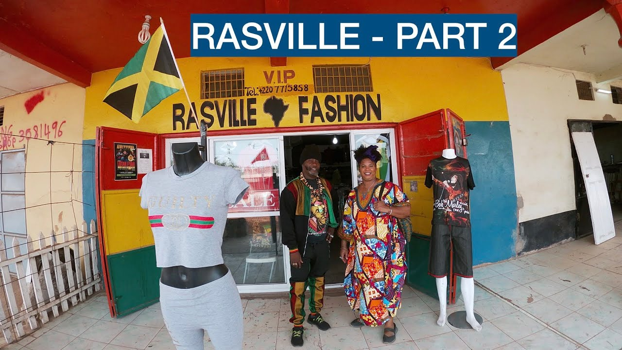 A GAMBIAN SUCCESS STORY RASVILLE - PART 2