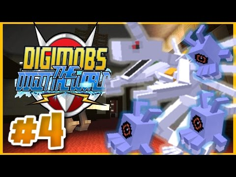 MINECRAFT DIGIMOBS ROLEPLAY ► THE DIGITAL WORLD Episode 4 ► HAUNTED MANOR! (Minecraft Digimon Mod)