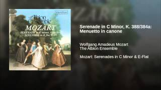 Serenade in C Minor, K. 388/384a: Menuetto in canone