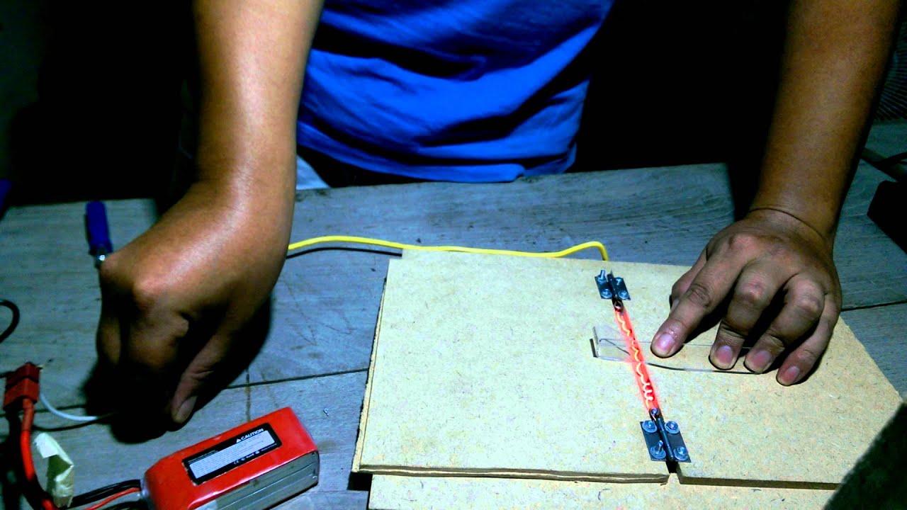 DIY: Nichrome Wire Acrylic Bending Tool - YouTube