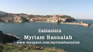 Myriam Bassalah en Colliure 23-01-2011