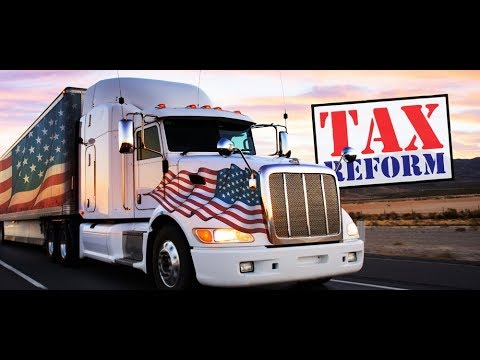 New Tax Plan and effects on Owner Operators and Company Drivers