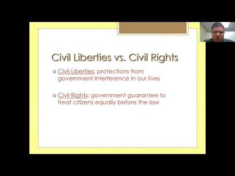 Civil Rights and Liberties Part 1