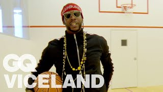 2 Chainz Plays Basketball in a $450,000 Court | Most Expensivest | VICELAND & GQ