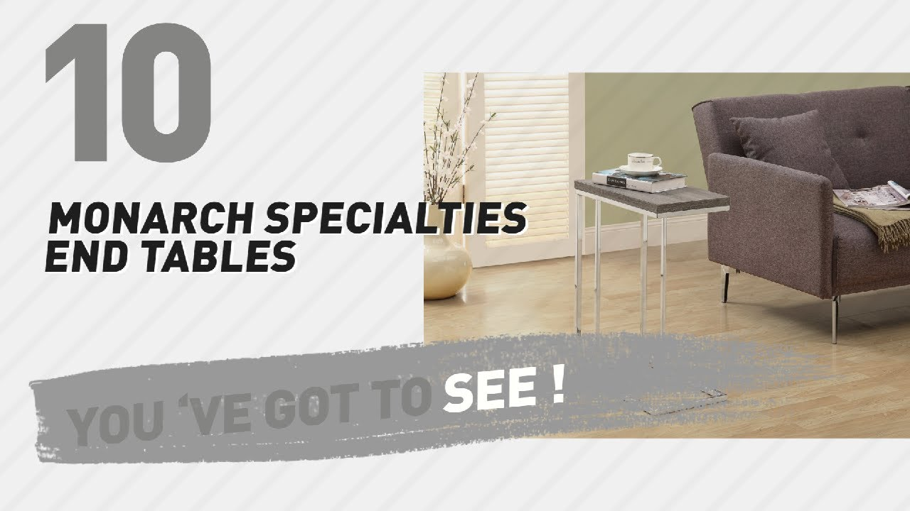 Monarch Specialties End Tables // New U0026 Popular 2017