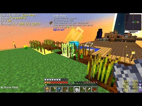 Minecraft - Project Ozone 2 #5: AgriCraft Farming