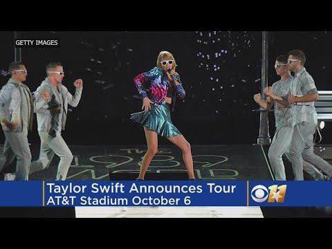 Taylor Swift Announces 'Reputation' Tour Mp3