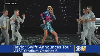 Taylor Swift Announces 'Reputation' Tour