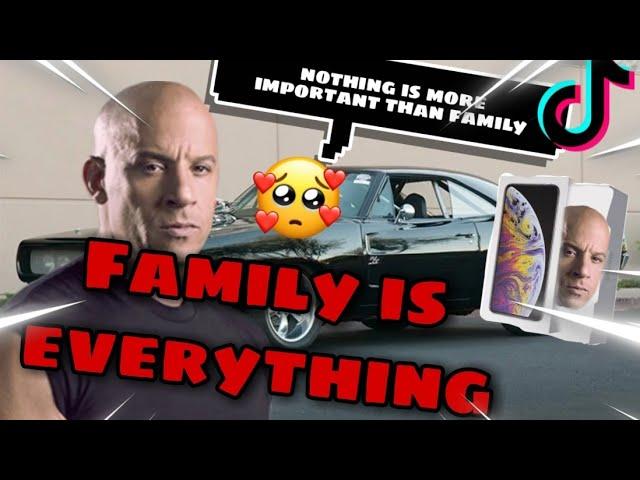 Dom Toretto Family Is Everything Meme Tiktok Compilation Youtube