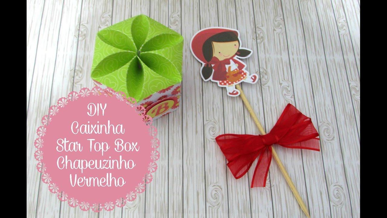 Tag Quadrado Lembrancinha Festa Da Chapeuzinho Vermelho