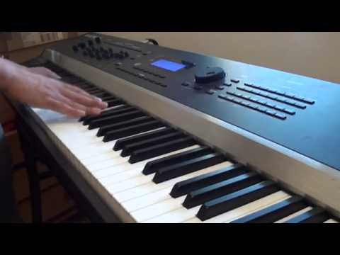 Union J - Beethoven - Piano Cover Version - Played on a Kurzweil Artis