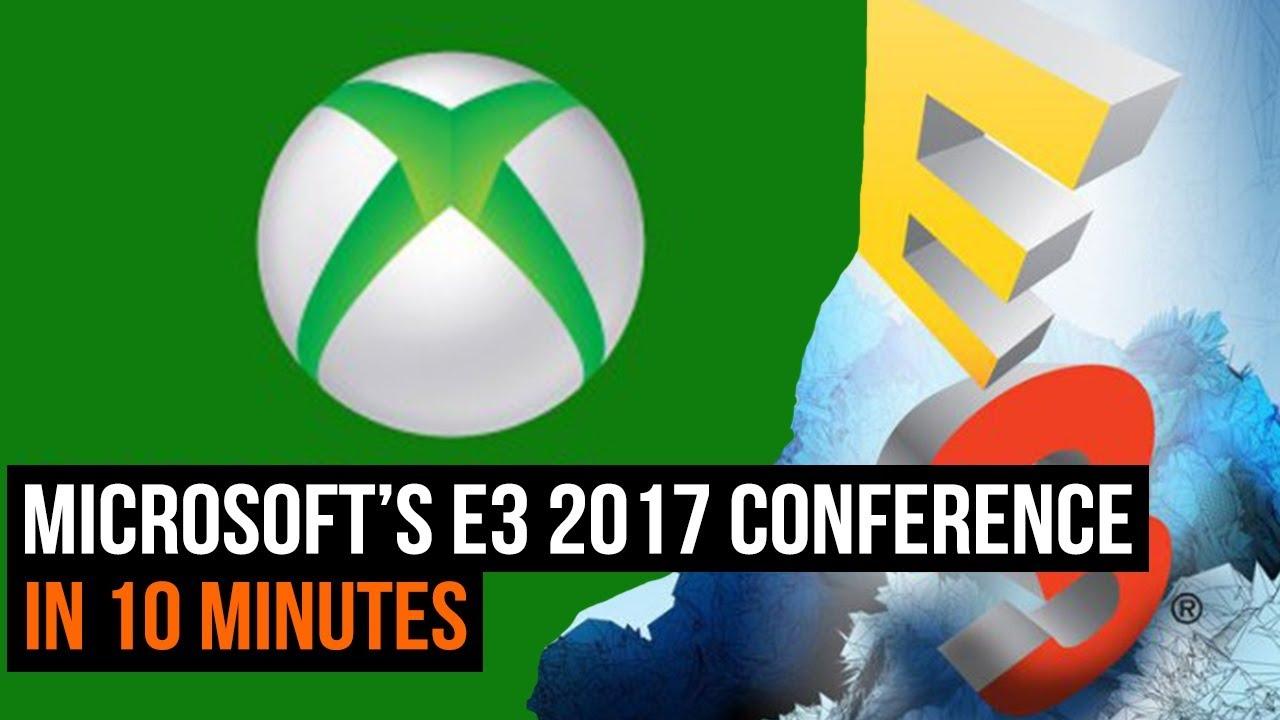 Watch the Microsoft E3 press conference