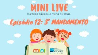 MINI LIVE IPNONLINE Episódio 11: 3° Mandamento (Lic. Davi Medeiros) - 12/05/2020