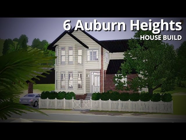 The Sims 3 House Building - 6 Auburn Heights