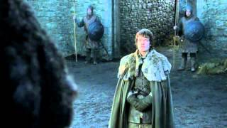Tyrion Lannister and Theon Greyjoy at Winterfell - Game of Thrones 1x04 (HD)