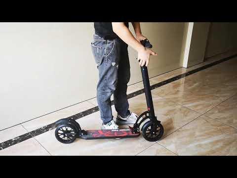Новинка! Взрослый самокат с дисковым тормозом и амортизаторами Urban Scooter XZ 129 Sport Pro