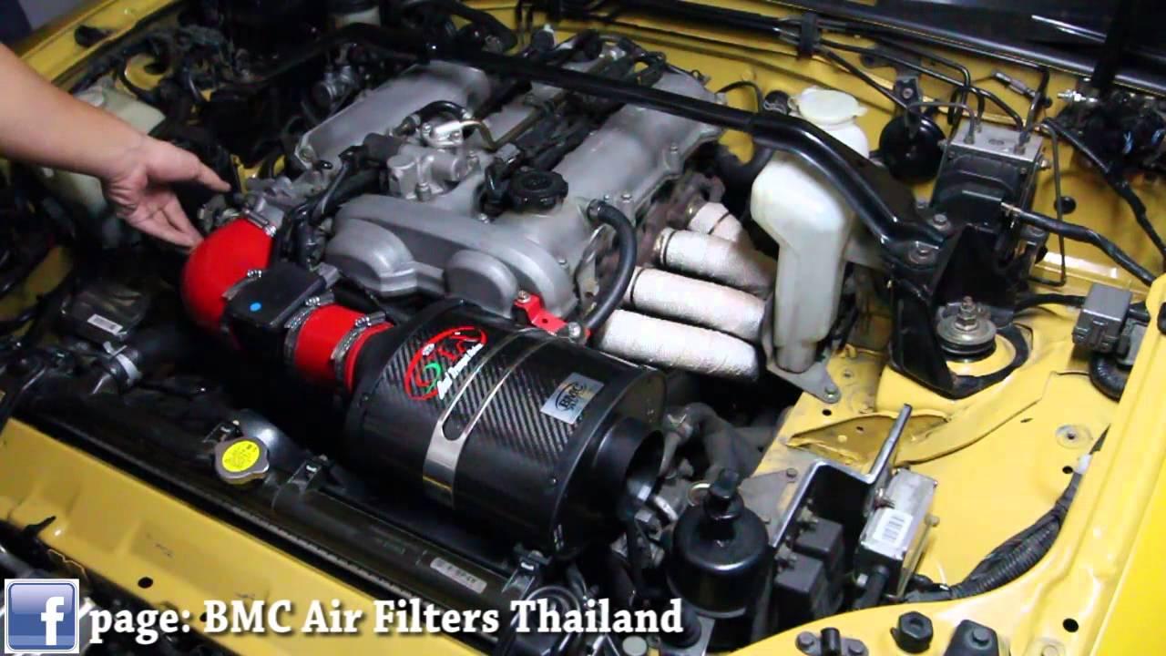 BMC Air Filter OTA Mazda Mx5 NB - YouTube