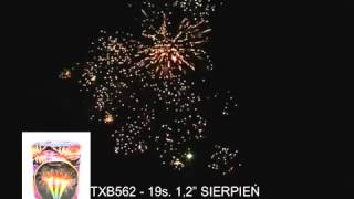 TXB562 Nirvana Fireworks