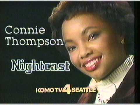 1984 KOMO TV Connie Thompson Nightcast