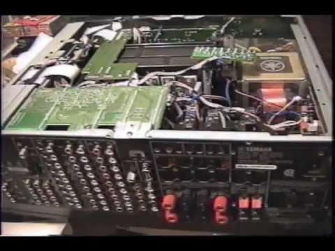 yamaha rx v2500 fan circuit repair youtube rh youtube com Yamaha Receivers yamaha rx-v2400 manual