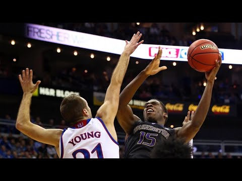 Men's Basketball: Washington gets huge upset win over No. 2 Kansas