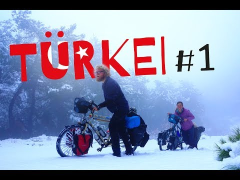 Winter Bicycletouring in Turkey - Part 1