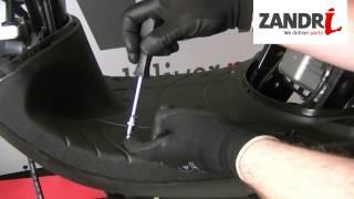 Kappenset vervangen | Piaggio Zip