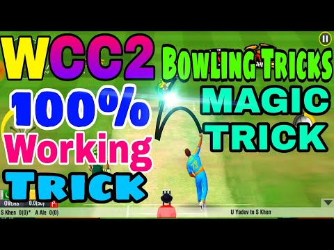 Wcc2 Bowling Tricks 2018  How to Take Wicket in World Cricket Championship 2