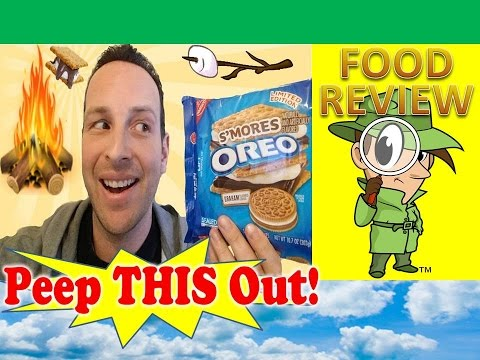 S'mores Oreo™ Cookies Review! Peep THIS Out!