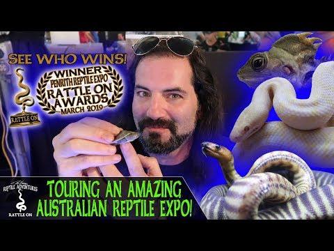 TOURING AN AMAZING AUSTRALIAN REPTILE EXPO!