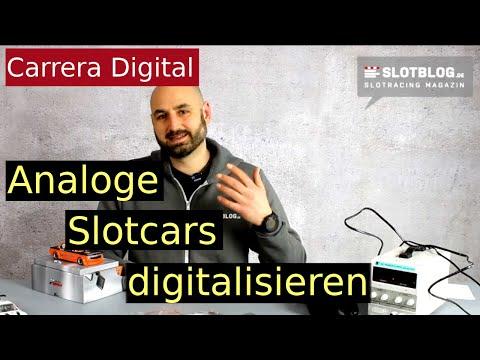 Analoge Slotcars auf Carrera Digital umbauen – Grundwissen
