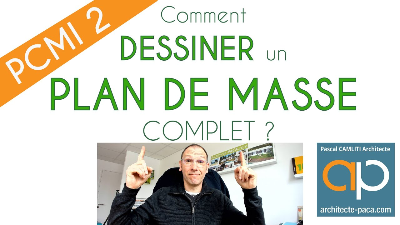 Favori PLAN DE MASSE : Comment faire facilement un plan de masse ? - YouTube QZ28
