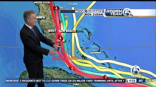 Category 5 Irma's winds still at 185 mph, track moves slightly eastward - 5 p.m. thumbnail