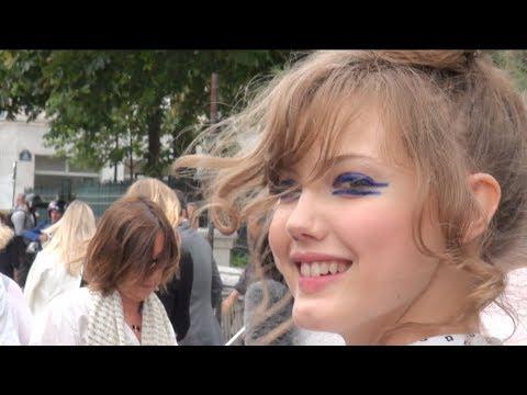 Fashion Week Paris LINDSEY WIXSON
