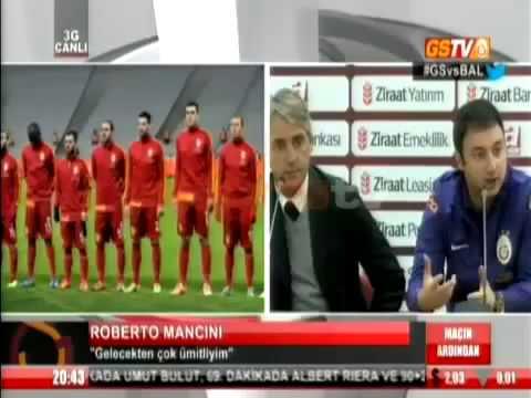 Galatasaray 4-0 Balıkesirspor Mancini'den Açıklama 18.12.2013