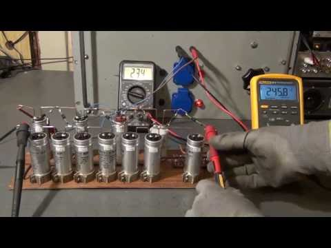 Building a Voltage Multiplier Cascade - Vacuum Tube Tester (2)