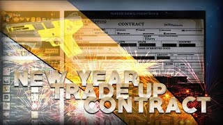 CS:GO | New Year Trade UP Contract! ;D