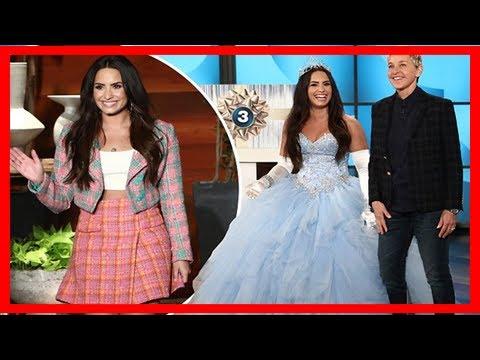 Breaking News | Demi lovato dresses up like a fairy princess before ...