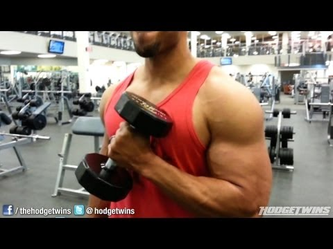 Arm Workout With Chest @hodgetwins