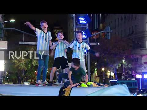Argentina: Fans ecstatic as Argentina qualifies for 2018 World Cup