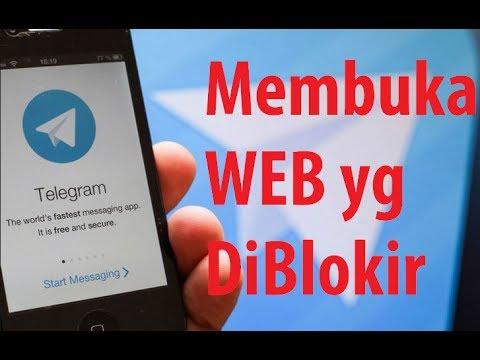 Trik Membuka Situs yang diBlokir (Telegram) 100% Berhasil