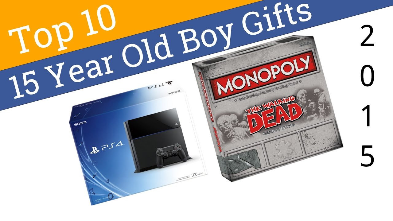 10 Best 15 Year Old Boy Gifts 2015 Youtube