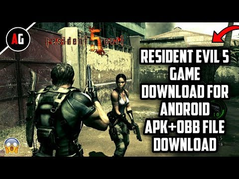 Resident Evil 5 Game for Android Apk+Obb File Download - YouTube