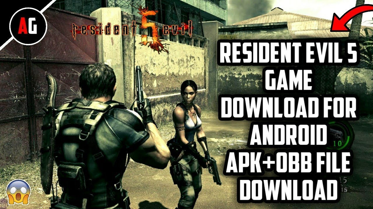 Resident Evil 5 Game for Android Apk+Obb File Download  #Smartphone #Android